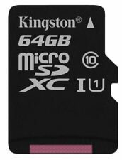 Kingston Sdcs/64gb MicroSD Card 64 GB Uhs-i Class 10 for HP HTC