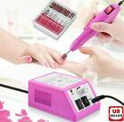 Electric Nail File Drill Manicure Machine Art Acrylic Pedicure Tool Set Kit