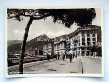 SALERNO lungomare Trieste animata vecchia cartolina