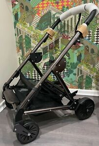 ⭐️ Mamas and Papas URBO2 / URBO PEWTER GREY & BLACK Chassis Wheels & Basket NEW