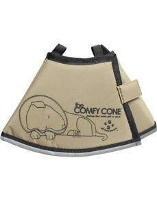 THE  COMFY CONE E-COLLAR FOR DOGS AND CATS TAN S NWT