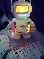 Playskool alphie robot working. New Batteries included! Electronic learning toy.