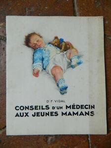 catalogue Conseil d'un MEDECIN AUX JEUNES MAMANS par le Docteur F. VIDAL, NESTLE