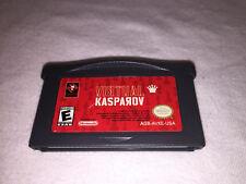 Virtual Kasparov (Nintendo Game Boy Advance, 2002) GBA Game Excellent!