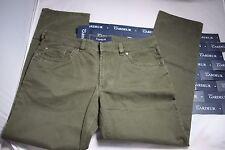 Gardeur Dark Olive Beautiful Green luxury Cotton jeans 3% Elastane 40W X 30.5L