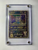 Pokemon Ancient Mew Movie 2000 Double-Sided Holofoil PROMO RARE HOLO Sratch LP