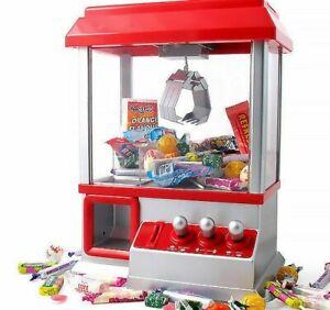 CANDY GRABBER MACHINE TOY CLAW GAME KIDS FUN CRANE SWEET GRAB GADGET ARCADE