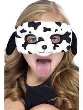 Maschera di cane bambini Tiermaske Dalmata per occhi Peluche Costume