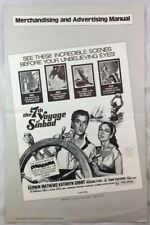 Original 1975 Pressbook The 7th Voyage of Sinbad Ray Harryhausen Fantasy Film