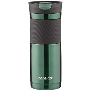 Contigo 20 oz Byron Snap Seal Stainless Steel Insulated Travel Mug - Grayed Jade