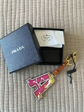 Prada Letter A Keyring Brand New With Tags And Original Box