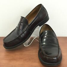 DEXTER Mens Leather Penny Loafer Cushioned Insole Flexible Outsole Comfort 8.5