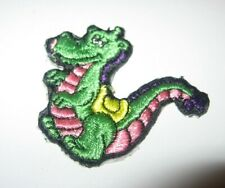 RARE Vintage ASTROSNIKS Embroidered Patch Dragon (of rare toy figure) FREE Ship