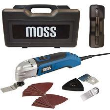 300Watt MOSS S2 Professional Oscillating Multi Tool & Wood Metal Blades, 240V