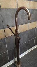 OIL RUBBED BRONZE FREE STANDING BATHTUB FAUCET clawfoot pedestal