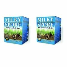 MILKY SPORE 2 x 40oz COVERS 20,000sq.ft JAPANESE BEETLE