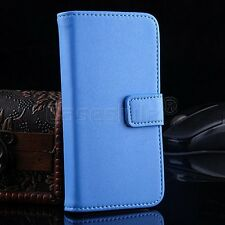 iPod Touch 6 6th 5 MP3 Genuine Leather Wallet Flip Case Cover Card Holder New