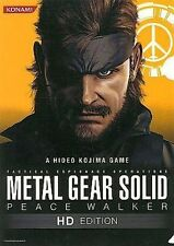 METAL GEAR SOLID PEACE WALKER HD EDITION SNAKE JAPAN LIMITED CLEAR FILE KONAMI