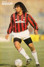 Football Photo RUUD GULLIT AC Milan 1990-91
