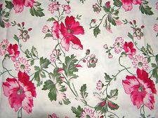 Shabby Coupon de tissu  Floral 45x55 cm Coton NEUF
