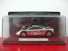 McLaren F1 chrome silver IXO 1/43
