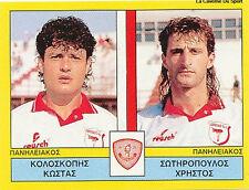 N°445 PLAYERS PANILIAKOS FC GREECE PANINI GREEK LEAGUE FOOT 95 STICKER 1995