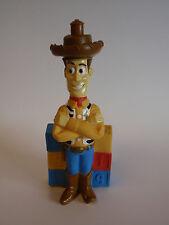 1995 Hasbro Disney Woody Toy Story 1 Figure Bubble Bath Container Empty Blocks