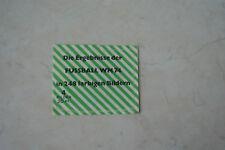 Stockhausen fútbol WM Alemania 1974 una bolsa sin abrir