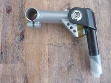 Potence VTT vintage noire /gris pivot 25,4 mm cintre 25,4mm CR-MO neuve flexstem