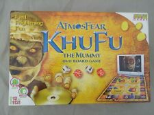 ATMOSFEAR Khufu the mummy board game - New contents sealed shelf wear to box