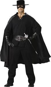Bandido Elite Collection Adult Mens Costume ZORRO Bandit Black Halloween
