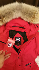 2018 LATEST ARRIVAL CONCEPT EDITION RED CANADA GOOSE TRILLIUM SM PARKA JACKET