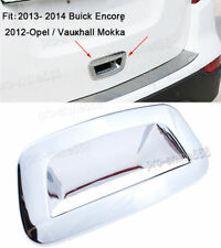 Chrome Rear Trunk Boot Door Handle Bowl Cover For Encore Mokka 2012-18 Trim 16
