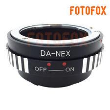 DA-NEX Pentax K PK-A DA AF Lens to Sony NEX E Mount Adapter NEX7 NEX5 NEX 3 5N