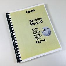 Onan Generator Heavy Equipment Manuals & Books for Onan for