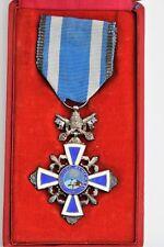 Vatican: Croix du Bénémerenti, année sainte 1925,dans son écrin d'origine