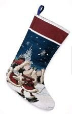 New Disney Parks Holiday Cheer Mickey Minnie Mouse Turn Of The Century Stocking