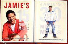 Jamie's 15 Minute Meals + 30 Minute Meals By Jamie Oliver