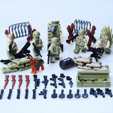 Band of Brothers 6pcs Minifigure Set LEGO Compatible - Battle of Normandy War