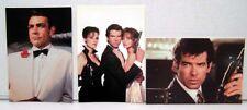 James Bond Postcard Set -3 postcards