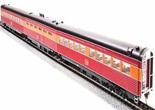 BROADWAY LIMITED  696 HO SP DAYLIGHT ARTICULATED 3 UNIT CAR SET PRE WAR DESIGN
