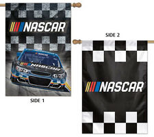 NASCAR 2017 Logo, Checkered Flag, Pace Car Design Premium 2-Sided WALL BANNER