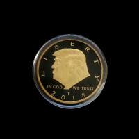 US President Donald Trump Commemorative Coin Collection Coins Souvenir Gifts XJ