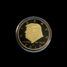 US President Donald Trump Commemorative Coin Collection Coins Souvenir Gifts JB