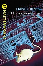 Flowers for Algernon (S.F. Masterworks) NOUVEAU Broche Livre  Daniel Keyes