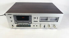 Yamaha Tc-520 Cassette Deck Recorder/Player • Sounds Amazing • Excellent