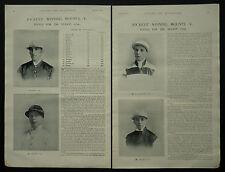 Horse Racing 1896 Season Jockey Winning Mounts 1897 3 Page Photo Article