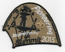 2013 National Jamboree Promo Tent Patch Series, Pioneering, Mint!