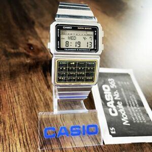 CLEAN Vintage 1985 Casio DBC-600 Data Bank Calculator Watch Japan Made Mod. 563