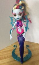 "Monster High 11"" Doll LAGOONA Blue Sea Great Scarrier Reef Mermaid"